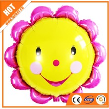 Smiling Face Foil Balloon Helium Balloon,Inflatable Weather Helium Balloon