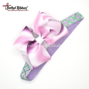 Cute Korean Plain Baby Hair Band Headband To Decoration