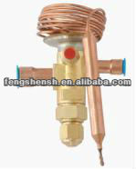 thermostatic expansion valve for refrigeration