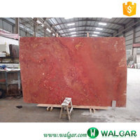 Good Quality Persian Red Travertine Marble Slab on Hot Sale