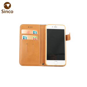 material leather cell phone case leather brand blu cell phone cases for iphone 7 logo