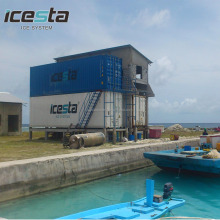 Large icesta containerized flake ice plant ice maker 30t/day