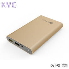 Smart QC3.0 quick charger 8000mah external battery charger power bank
