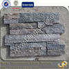 Elegant grey quartzite stone wall panels