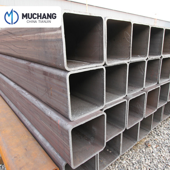 Black steel square tube, structural square hollow steel tube sizes, erw carbon steel welded pipe