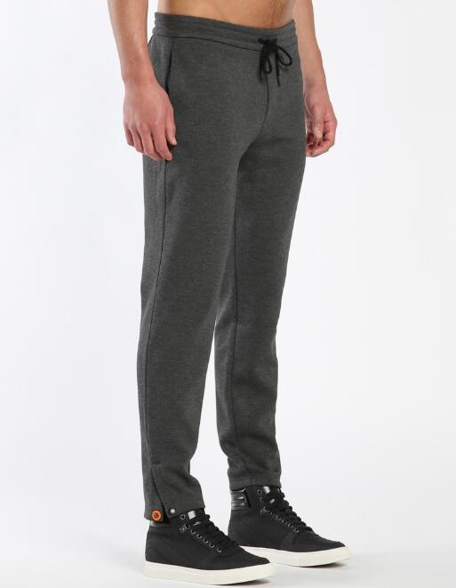 hot new 100% contton terry man pants customize the casual long pants in Chinese factory