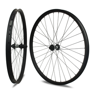 Mountain Biking wheels carbon MTB wheels mountain bike wheels novatec hub carbon 27.5er width 35mm MTB clincher rim BMX bike
