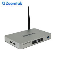 Best selling items Zoomtak T8H version 2 s905 chip 32GB optional satellite dish pointing dual wifi pc tuner