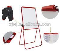 YDB-002 U Dual-Face White Board flip chart folding double side dry erase black slate chalk boards