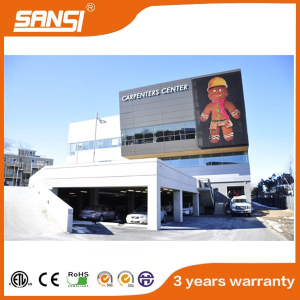 shanghai sansi factory round square led display wall screen full color ip 68