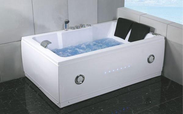 Doppia vasca idromassaggio con cuscino vasca da bagno id prodotto 657598902 - Vasca da bagno doppia ...