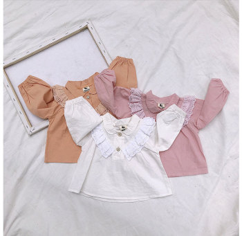 New Brand Newborn Baby Girl Infant Toddler Clothes Long Sleeve T-shirts Tops Outfit