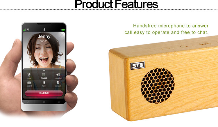 FM radio cheap mini portable wooden wireless bluetooth speaker 2017 shenzhen