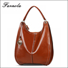 2016 Latest design custom women handbags hobo bag style and genuine leather material