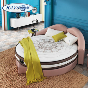 Customized California King Size Round Bed Mattress Memory Foam Best Circular Bed Mattresses