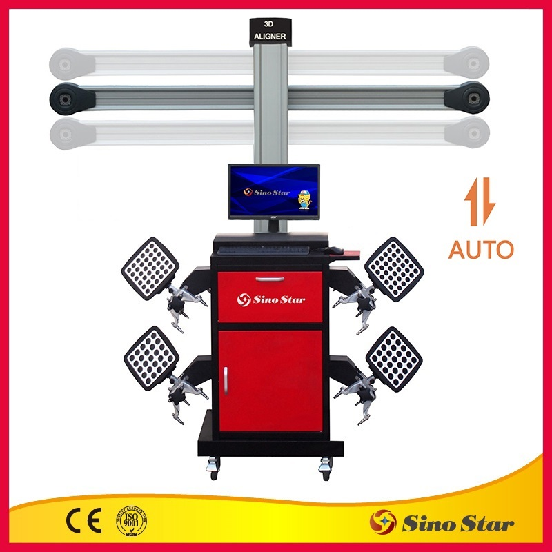OEM 3D wheel alignment /four wheel aligner/ wheel alignment equipment by Sino Star
