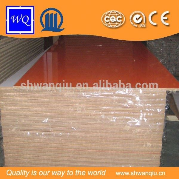 Low Price UV Cotated MDF Board/ High Gloss UV MDF 8-18 mm MDF Board