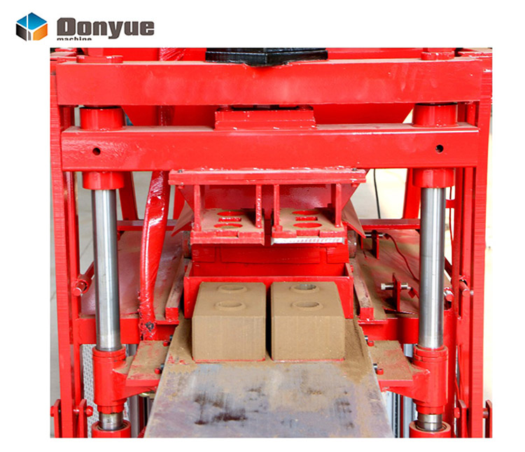 new eco hydraulic mud automatic clay brick making machine for small business hot sale in Colombia