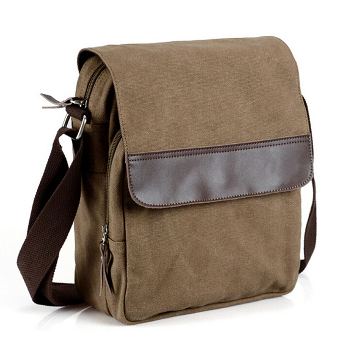 Get Quotations Hot Fashion Leisure Simple Design Canvas Men Messenger Bag Casual Mens Shoulder Bags