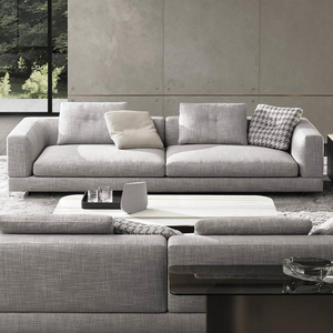 Latest chesterfield sofa set designs modern l shape sofa manufacturer  wholesale fancy fashion corner sofas