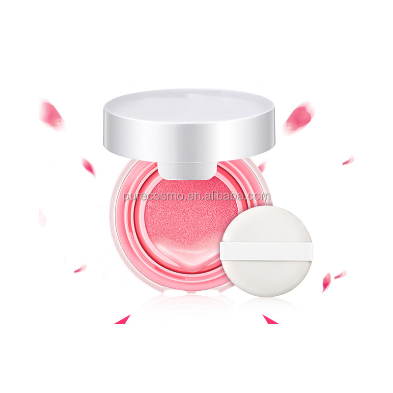 2018 new air cushion blusher cream moisturizing makeup rouge air cushion cream in stock