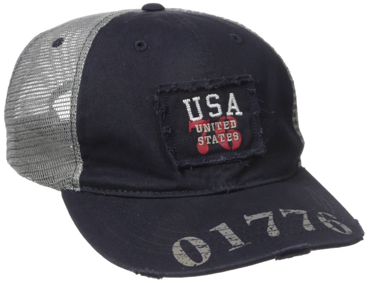 Rapiddominance Great Lake USA Caps, Navy