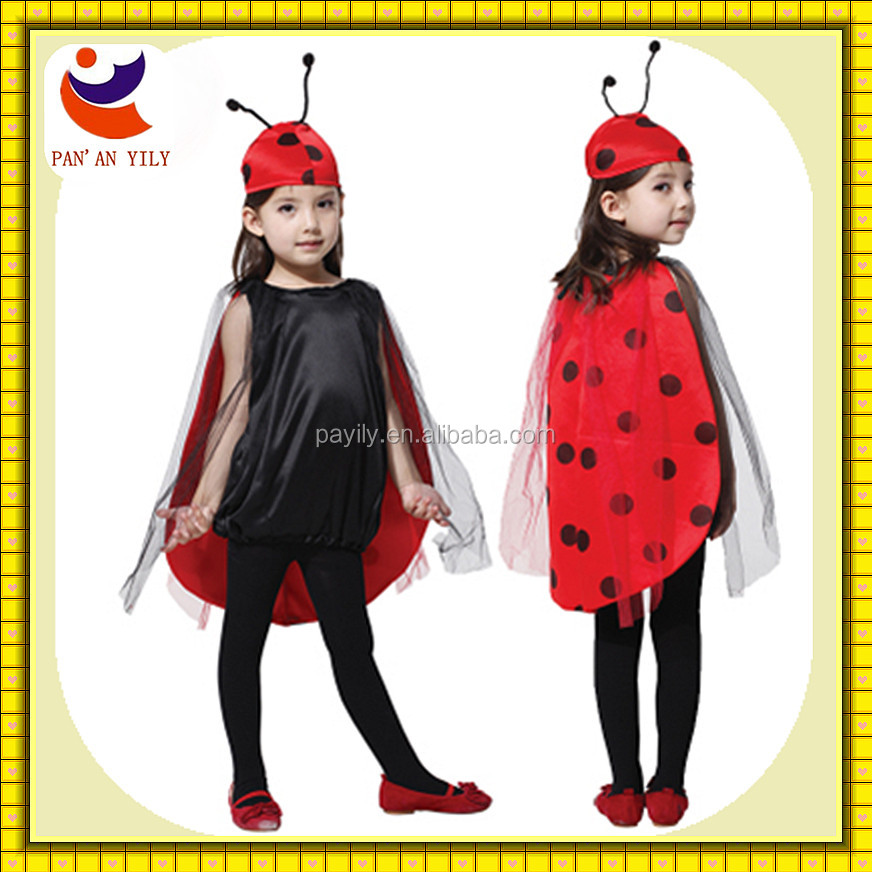 En 71 disney autorizado fabrica ladybug costume kids halloween costume