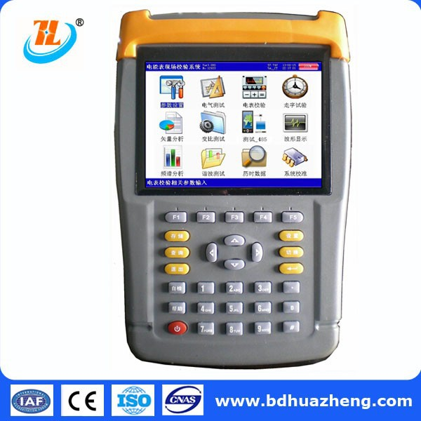 electrical instrument portable multifunction 3 phase energy meter calibrator