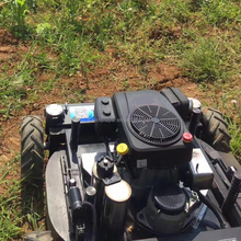 robot flail reciprocating blades electric lawn mower for commercial grass cutting