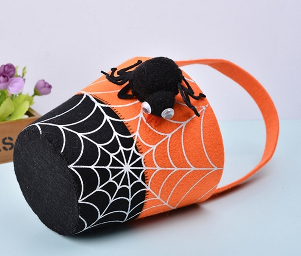 2016 hot items China supplier felt halloween basket for Trick or Treat