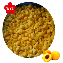 IQF high quality frozen yellow peach