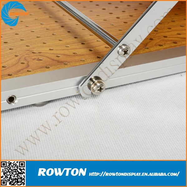 A4 Folding Leaflet Holder Acrylic Box Stainless Steel Brochure ...