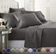 1800 thread count bed sheet sets , microfiber bed sheets , bedding set