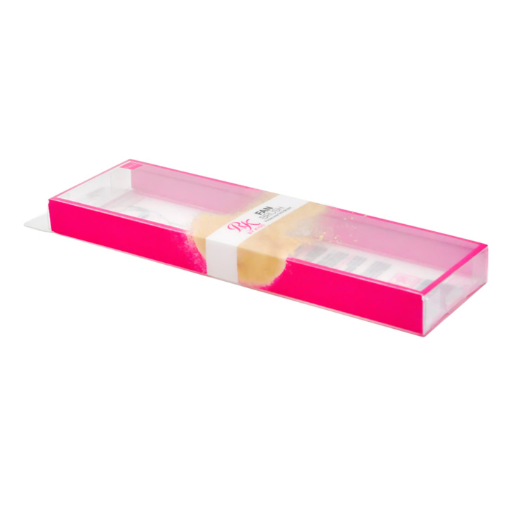 Competitive price thin rectangular clear plastic boxes plastic transparent box