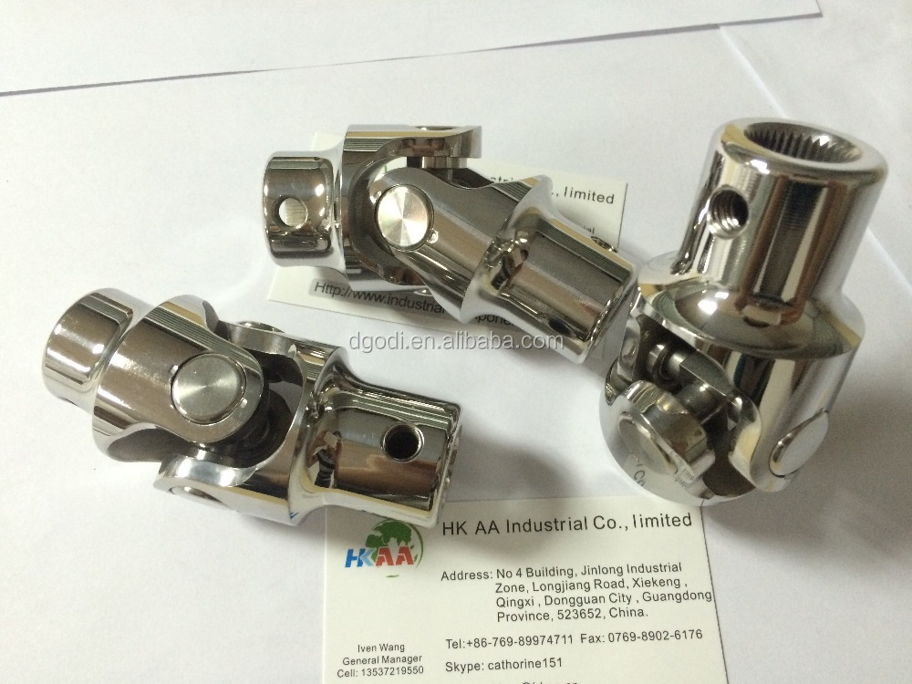 Custom all steering universal joints size