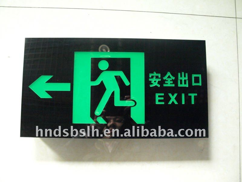 USA popular led exit sign