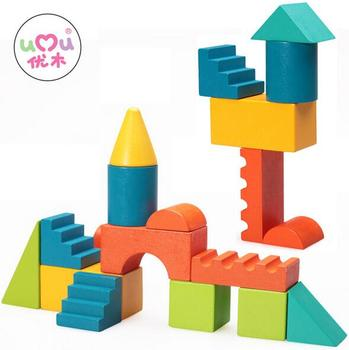 Wooden Projection Block Building 3d Stack Of Wood Building Blocks Of  Children 's Early Educational Toy - Buy 3d Building Block,Wood Educational  Toys Product on Alibaba.com