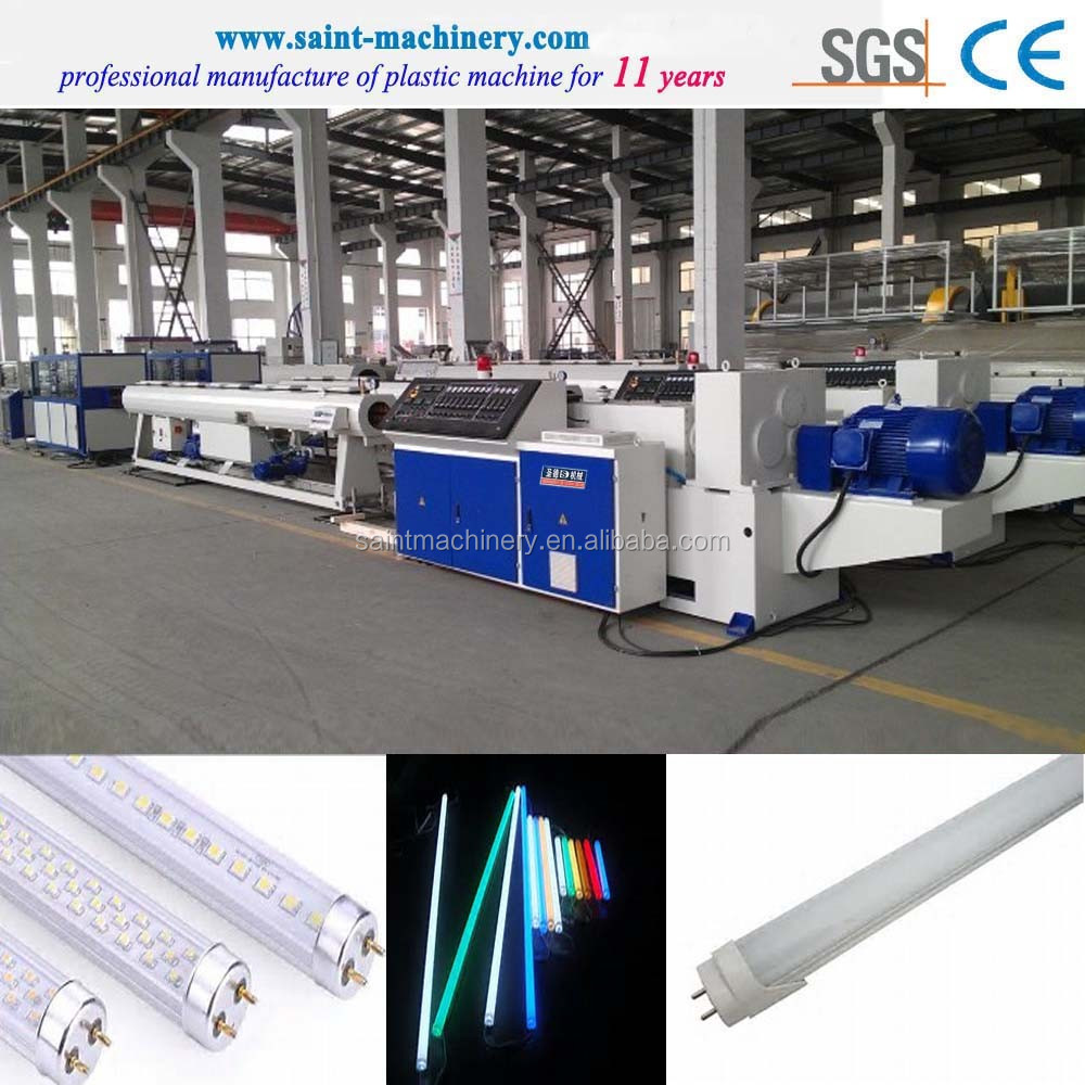 PC T8 led tube light extrusion machine manufacturers