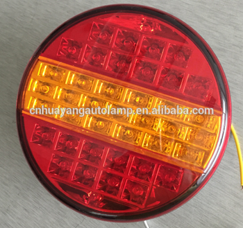 Led Truck Tail Lights >> 6 Inch Red Round Led Tail Light Fit Trailer Truck Buy Led Truck Light For Trailer Led Tail Lights 24v Truck Full Trailer Truck Product On