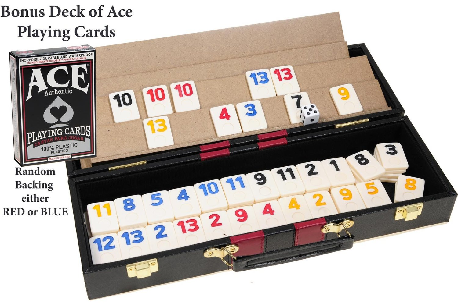 Rummy Deluxe Set With 106 Tiles