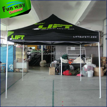 Commercial 10x10 Canopy Tent With Printing For Sport Games