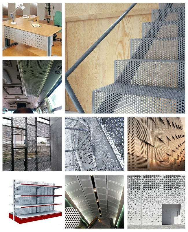 China Anping Perforated Metal Pattern Lowes Sheet Metal