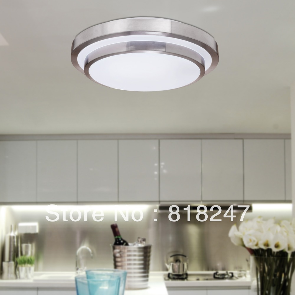Free shipping white flush mount ceiling lights in round - Flush mount bathroom ceiling lights ...