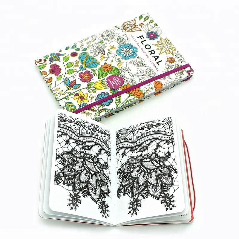 Tapa Blanda Personalizado Jardin Secreto Libro Para Colorear De