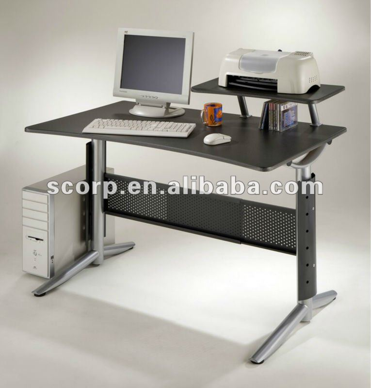 Taiwan Computer Desk with Printer Shelf