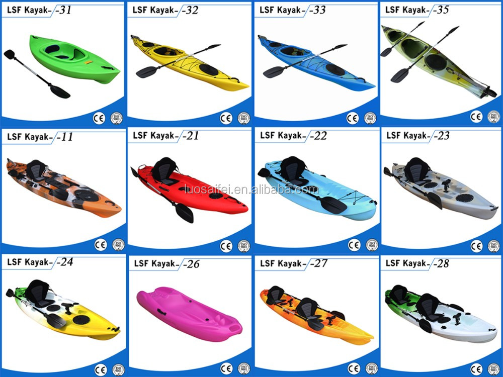 2018 China OEM wholesale hot sale clear single ocean fishing kayak with paddle,motor and fish finder