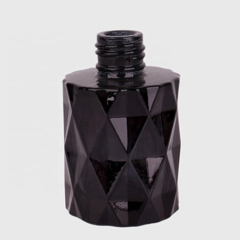 Wholesale round black 50ml perfume aroma diffuser fragrance bottle glass