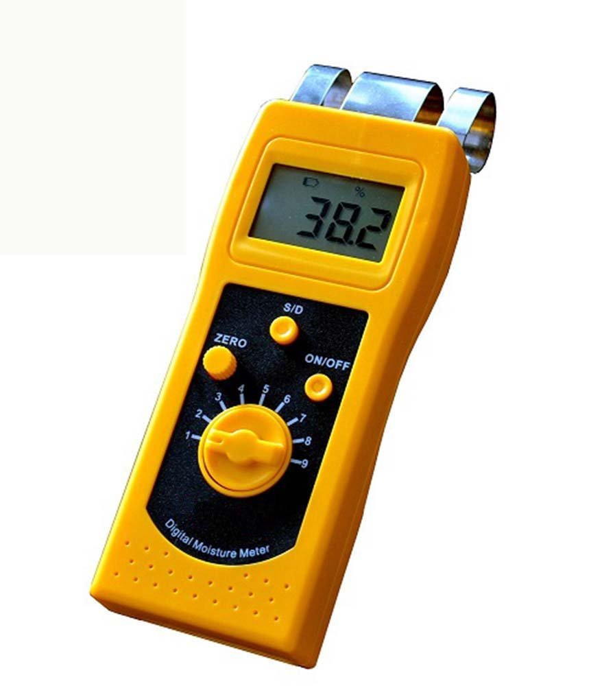 CNYST DM200W Portable Digital Wood Moisture Meter with LCD Display Integrated Type Moisture Content Measuring Tools for Wood