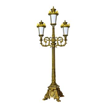 Outdoor Antique Garden Lamp Post With