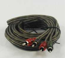 Professional Challenger Double Shielded RCA cable Wire subwoofer Cable